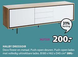 Halby dressoir