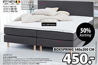 Plus c50 boxspring-DreamZone