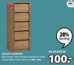 Vedde commode 5 lades