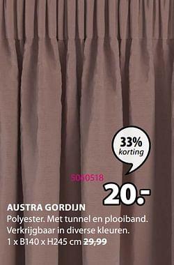 Austra gordijn