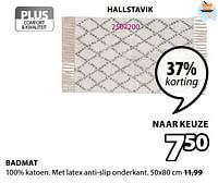 Badmat hallstavik-Huismerk - Jysk