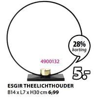 Esgir theelichthouder-Huismerk - Jysk