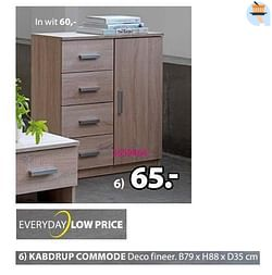 Kabdrup commode