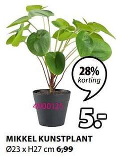 Mikkel kunstplant