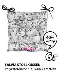 Salvia stoelkussen-Huismerk - Jysk