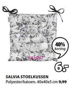 Salvia stoelkussen