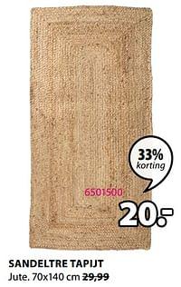 Sandeltre tapijt-Huismerk - Jysk