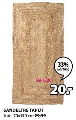 Sandeltre tapijt