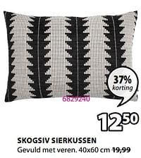Skogsiv sierkussen-Huismerk - Jysk