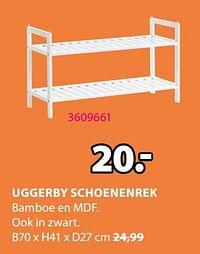 Uggerby schoenenrek-Huismerk - Jysk