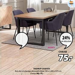 Hadrup chaises