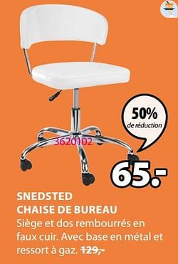Snedsted chaise de bureau