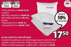 Ulvik couette synthétique