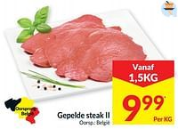 Gepelde steak ii-Huismerk - Intermarche