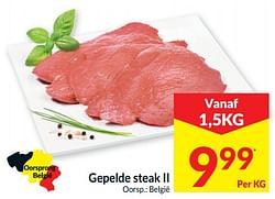 Gepelde steak ii