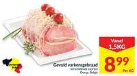 Gevuld varkensgebraad-Huismerk - Intermarche