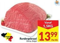 Rundergebraad-Huismerk - Intermarche
