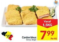 Cordon bleus-Huismerk - Intermarche