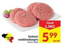 Varkens- rundshamburgers-Huismerk - Intermarche