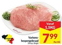 Varkenshespengebraad-Huismerk - Intermarche