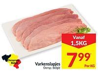 Varkenslapjes-Huismerk - Intermarche