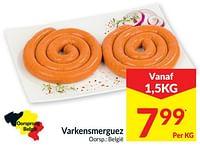 Varkensmerguez-Huismerk - Intermarche