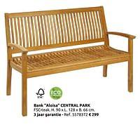 Bank aloisa central park-Central Park