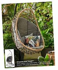 Hangende stoel amalfi-Huismerk - Brico