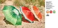 Parasol beach-Huismerk - Brico