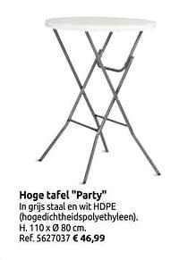 Hoge tafel party-Central Park