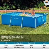 Opzetzwembad frame pool intex-Intex