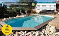Houten opzetzwembad océa ubbink-Ubbink
