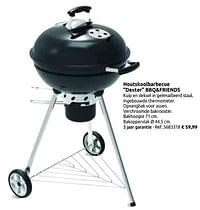 Houtskoolbarbecue dexter bbq+friends-BBQ & Friends