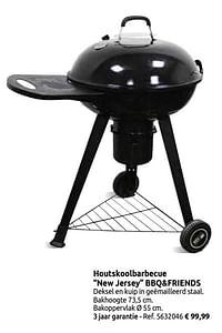 Houtskoolbarbecue new jersey bbq+friends-BBQ & Friends