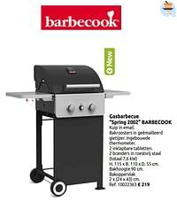 Gasbarbecue spring 2002 barbecook-Barbecook