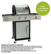 Gasbarbecue triton pts 2.1 landmann-Landmann