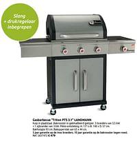 Gasbarbecue triton pts 3.1 landmann-Landmann