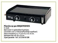 Plancha op gas bbq+friends-BBQ & Friends