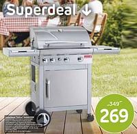 Gasbarbecue kaduva barbecook-Barbecook