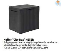 Koffer city box keter-Keter