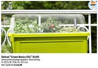 Deksel green basics xxl elho-Elho