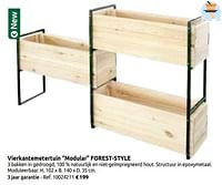 Vierkantemetertuin modular forest-style-Forest-Style