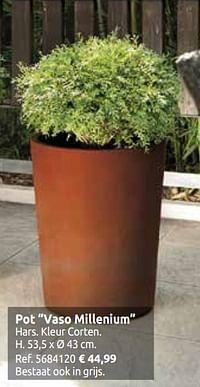 Pot vaso millenium-Huismerk - Brico