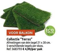 Collectie terras-Huismerk - Brico