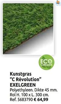 Kunstgras c révolution exelgreen-Exelgreen
