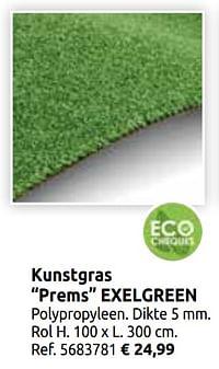 Kunstgras prems exelgreen-Exelgreen