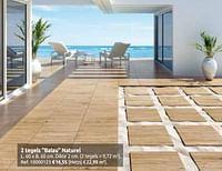 2 tegels balau naturel-Huismerk - Brico