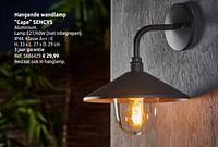 Hangende wandlamp cape sencys-Sencys