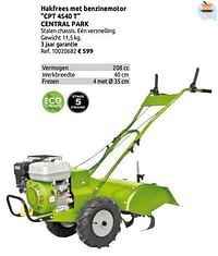 Hakfrees met benzinemotor cpt 4540 t central park-Central Park