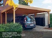 Carport douglas cartri-Cartri